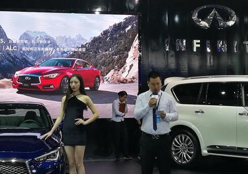 全新英菲尼迪Q60湖南车展激情上市 售价43.68万起