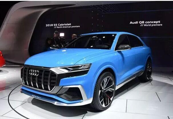 【新车速递】中大型SUV奥迪Q8 6月将在中国全球首发